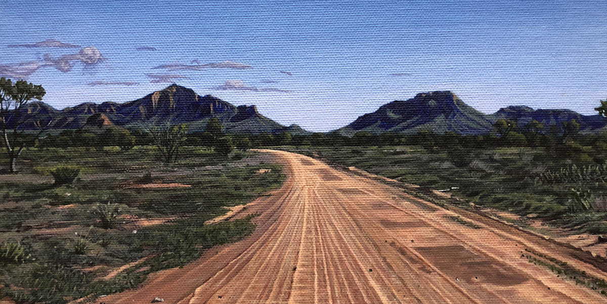 On the road to Papunya